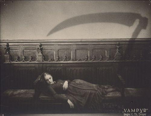 "Film Still ""Vampyr"", 1932, Carl Theodor Dreyer.Danish film Director (1889 - 1968)"