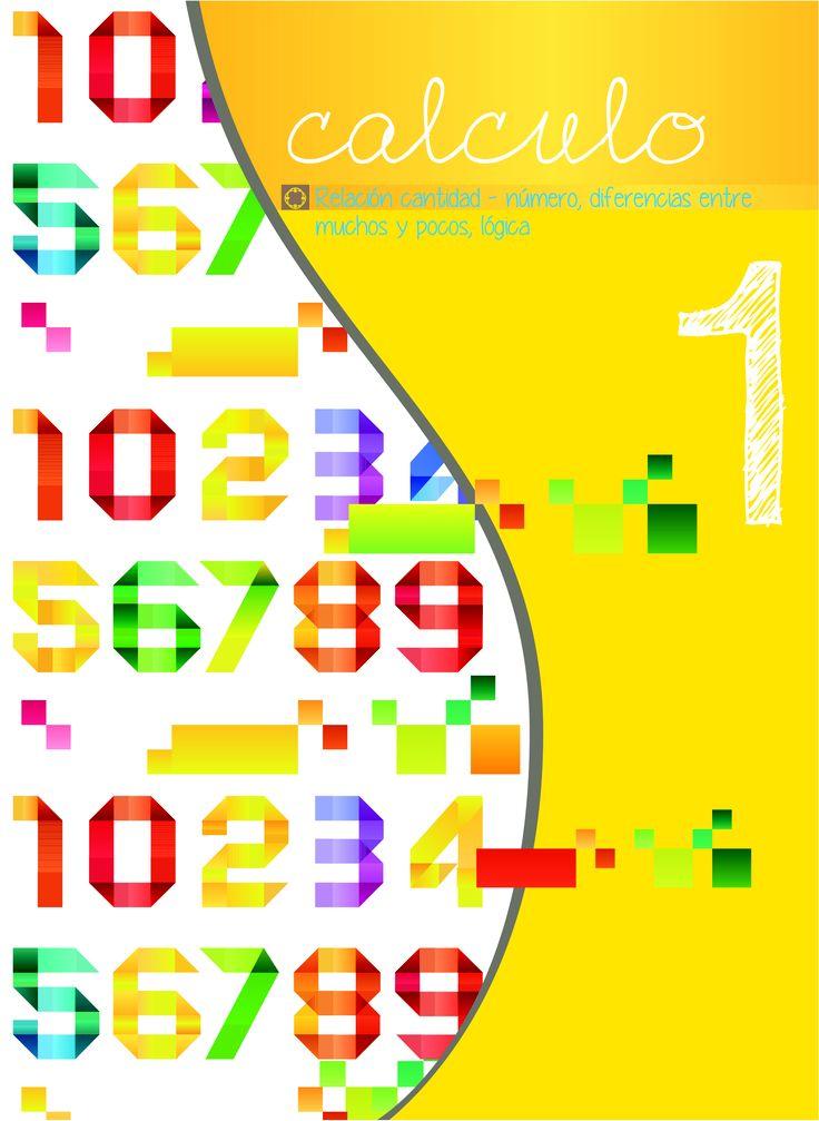 Diseño portada cuadernillo cálculo para la Fundación Integra Vigo.  #idecomunicacion #design #vigo
