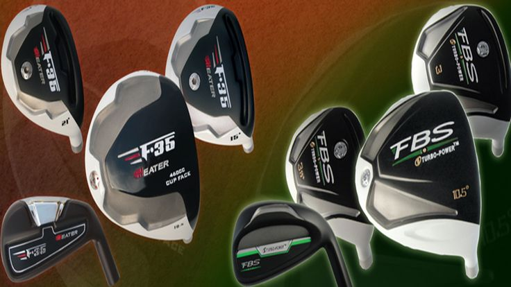 Buy online golf club components, cheap golf clubs from Monark Golf.