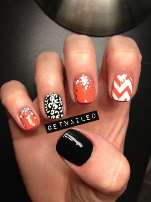 Fun nails: Nailart, Nail Designs, Mani Asked, Nailss, Nail Ideas, Nail Art, Halloween Nails