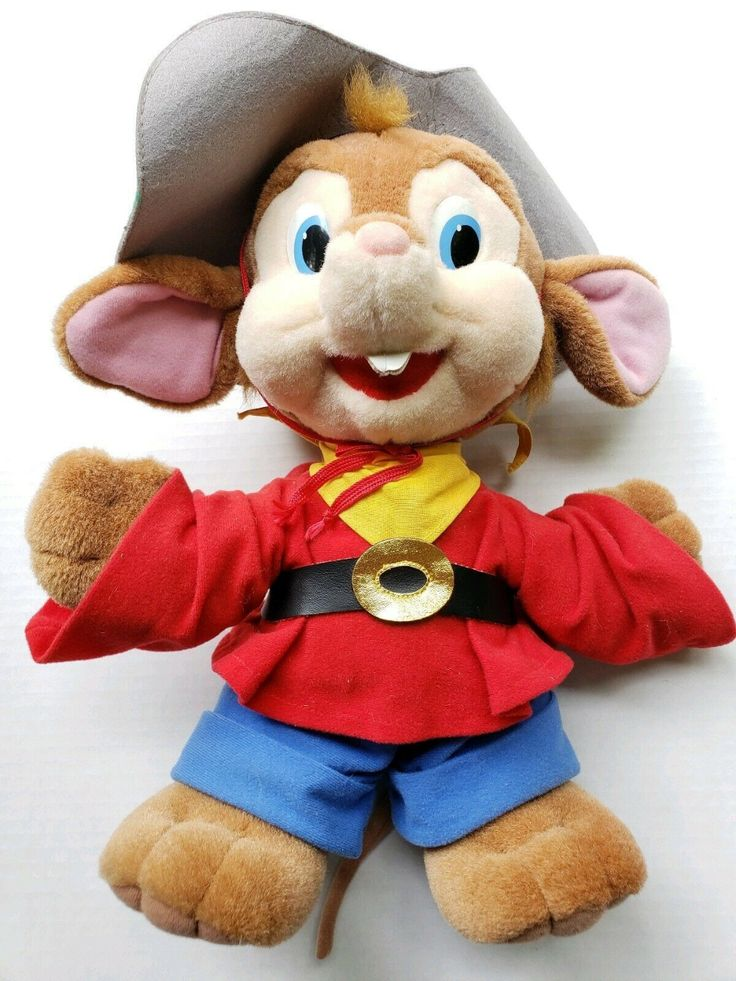 Vintage quot FIEVEL GOES WEST MOUSE Plush An American