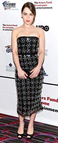 Emilia Clarke in Christian Dior