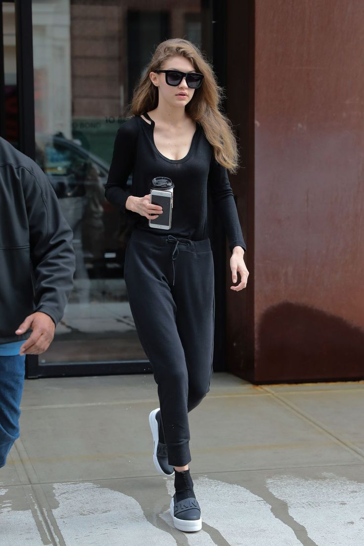 Gigi Hadid out in New York on April 12, 2017