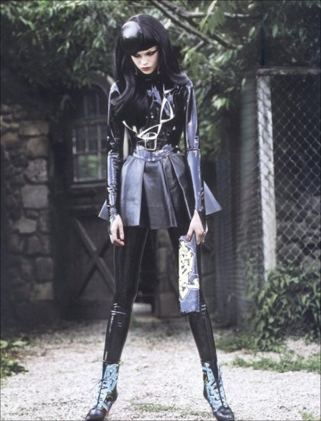 Glam Rock #Goth girl