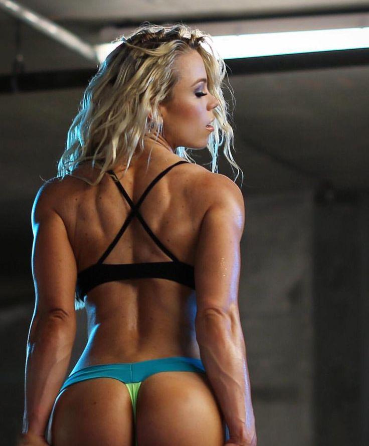 Naked athletic training workout girls 10