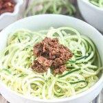 Zucchini Noodles with Sun Dried Tomato Pesto