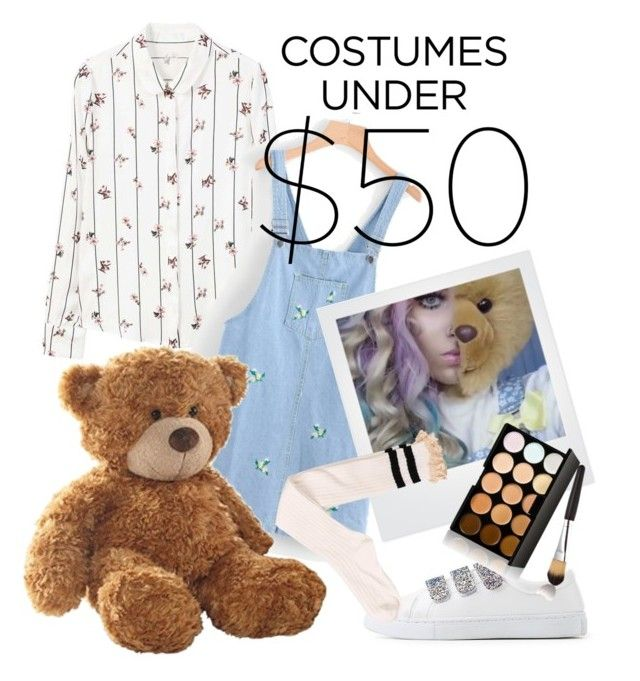 """""""Halloween On A Budget // to the grave by bea miller ft. mike stud"""" by lisajorlen ❤ liked on Polyvore featuring MANGO and Polaroid"""