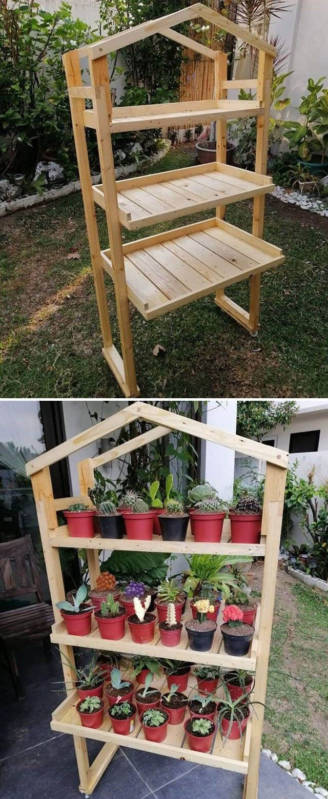 Pallet Garden Project For Planter Box Ideas Pallet Projects