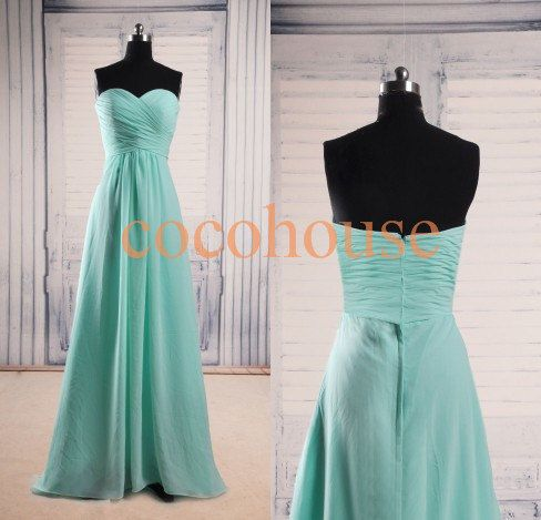 Hey, I found this really awesome Etsy listing at https://www.etsy.com/listing/199995173/mint-simple-long-bridesmaid-dresses