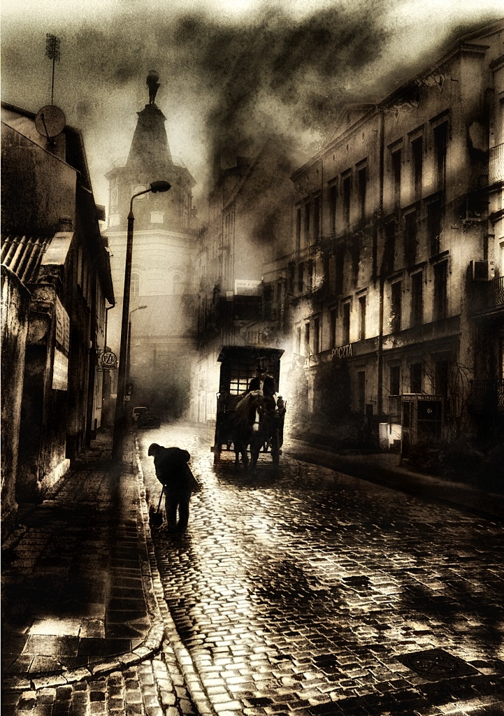 Pct'r'l'day by Tomasz Wisniewski #dark #street