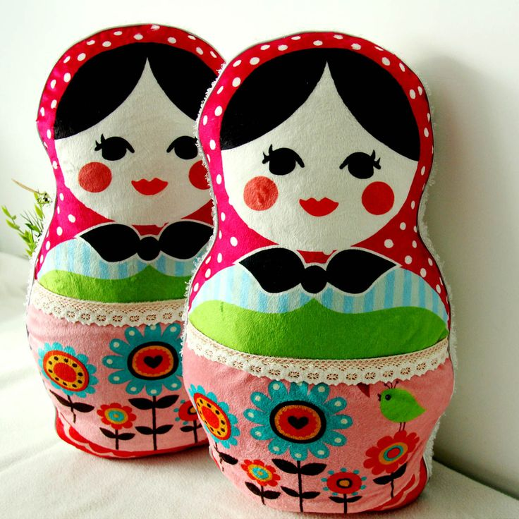 Russian nesting doll /Russian nesting doll pillows / Nice gift cartoon lucky doll cushion /carton anime toy free shiping $89.99