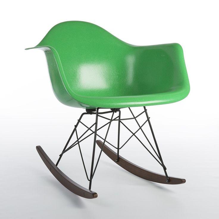 Located Using Retrostart.com U003e RAR Rocking Chair By Charles And Ray Eames  For Herman