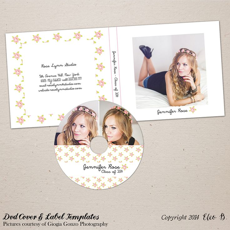 Dvd Cover & Label Template - Photoshop Template - M017 - instant download  SHOP AT: etsy.com/shop/eleob SEARCH WITH THE CODE   Pictures by Giorgia Gonzo Photography  Model Suzana