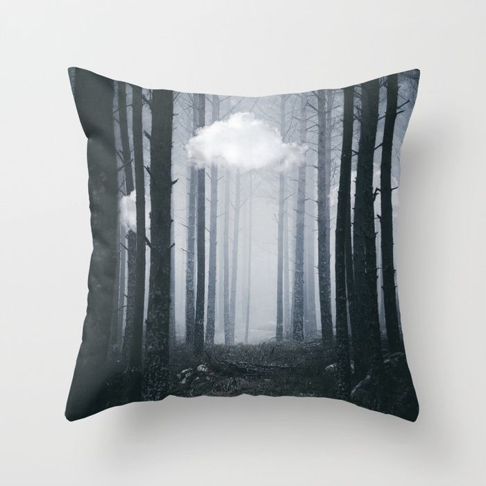 The ones that got away Throw Pillow by HappyMelvin. #homedecor #pillows #throwpillow #nature #surreal #artwork #photography