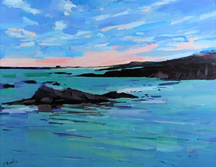 tide coming in, connemara by Hugh Sean O'Rouke from house of bruar