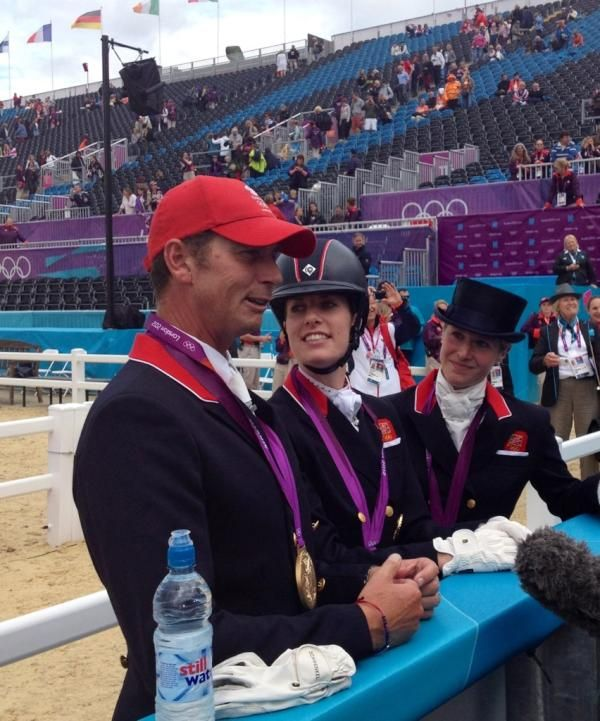 Team GB Dressage GOLD MEDAL