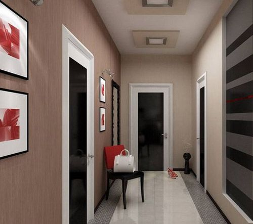 Tips To Create Simple House Interior Design With Natural: 3d Interior Design Ideas For Entryways, Hallway Lighting