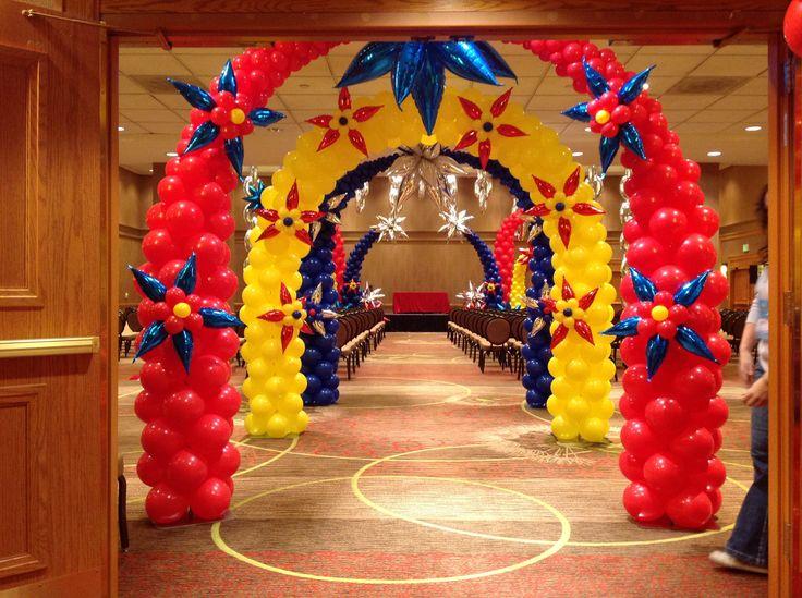 The 25 best balloon arch frame ideas on pinterest for Balloon arch frame kit party balloons decoration