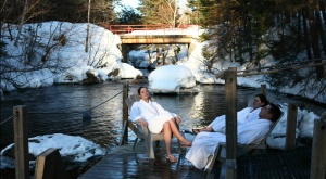 Station Siberia Spa, in Lac-Beauport, just 20 mins away from Quebec City. Quiet & soothing, nature, massage...