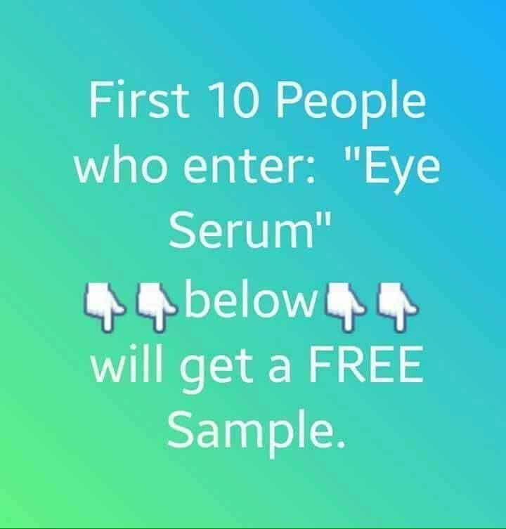 Look for before/after pictures on my page. If you wish to order your 30 day money back guarantee Eye Serum go to https://laurriedumont.nerium.com/ca/en/