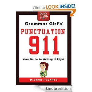 16 best great ebooks to learn english images on pinterest learn grammar girls punctuation 911 your guide to writing it right quick dirty tips fandeluxe Image collections