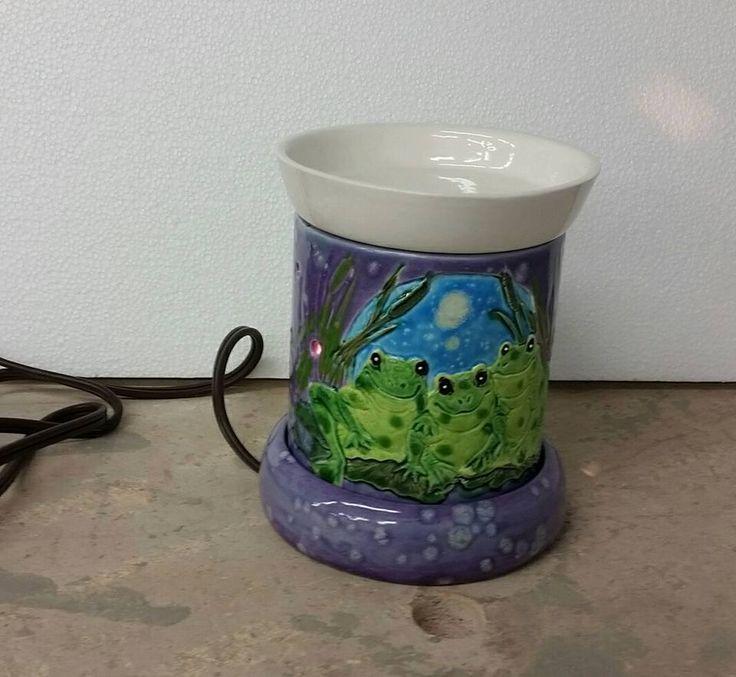 trio frog electric wax warmer wax warmers created at granny ruth s
