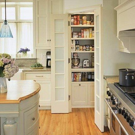 Home depot a detailed house pantry pinterest pantries corner pantry and frosted glass door - Home depot kitchen pantry ...