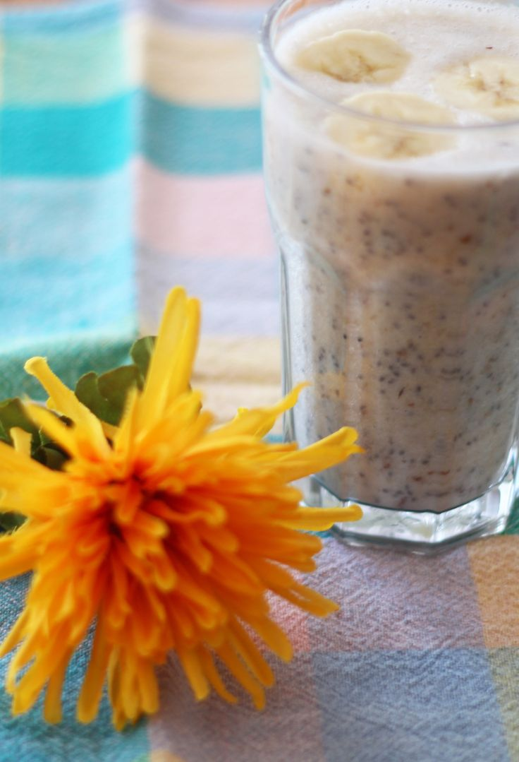 Banana Pie Smoothie  A gluten-free, dairy-free and low sugar smoothie that tastes like dessert but is full of healthy ingredients.