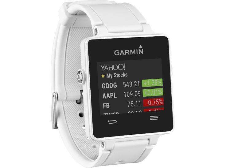 GARMIN VIVOACTIVE fehér okosóra + HRM3 szívritmuspánt