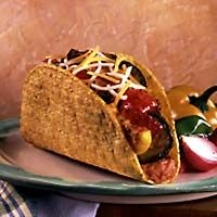 This is one of our favorite vegetable entrees. Use any combination of seasonal vegetables to create delicious tacos that are healthy and full of flavor.: Create Delicious, Mr. Tacos, Vegetables Entrees, Delicious Tacos, Seasons Vegetables, Favorite Vegetables, Vegetarian Recipes