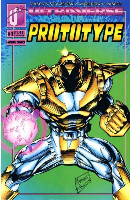malibu comics | Prototype (Malibu Comics) #1A