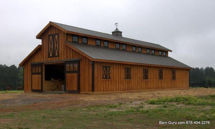 Horse barn ideas dream home pinterest for Barn designs for horses