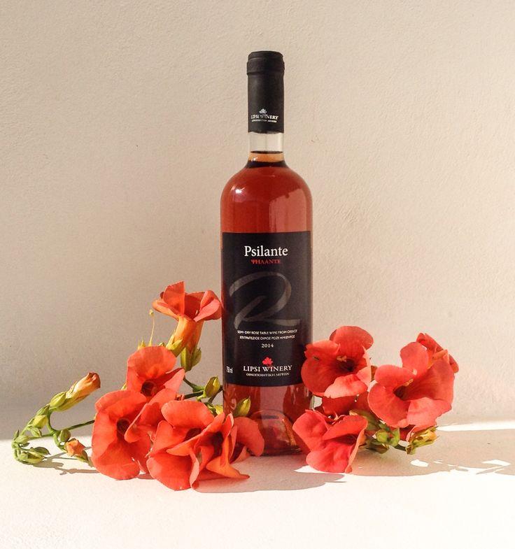 Psilante, our delicious Fokiano rosé