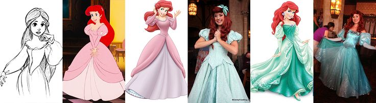 Ariel: Concept art, Movie, Merchandise Design, Face Character, Merch Redesign, Face Character Redesign