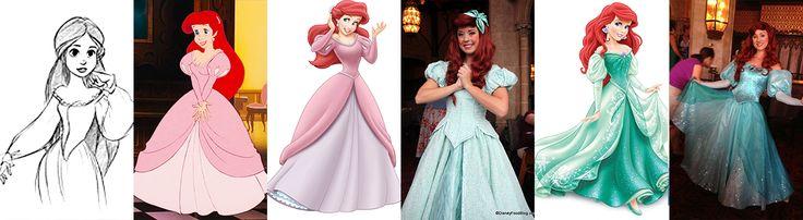 Ariel:Concept art, Movie, Merchandise Design, Face Character, Merch Redesign, Face Character Redesign