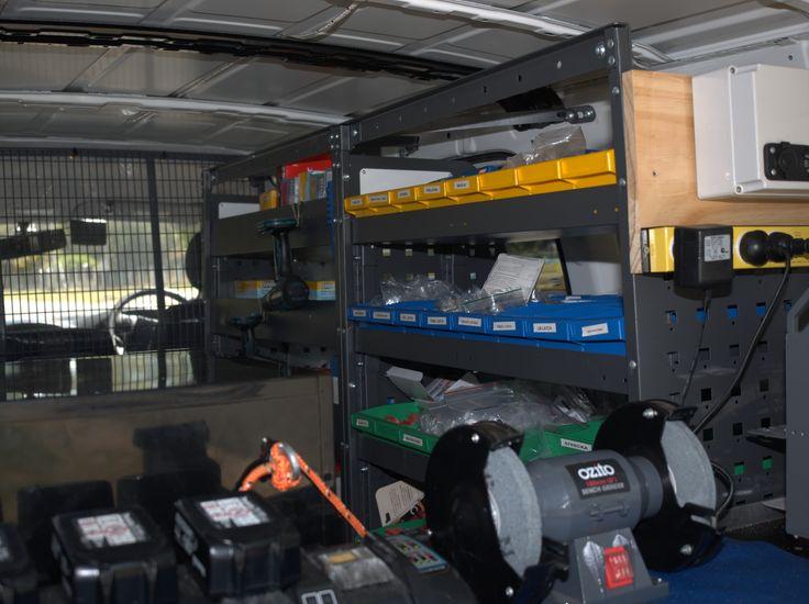 Inside the van http://www.barrierlocksmiths.com.au/location/south-brisbane/