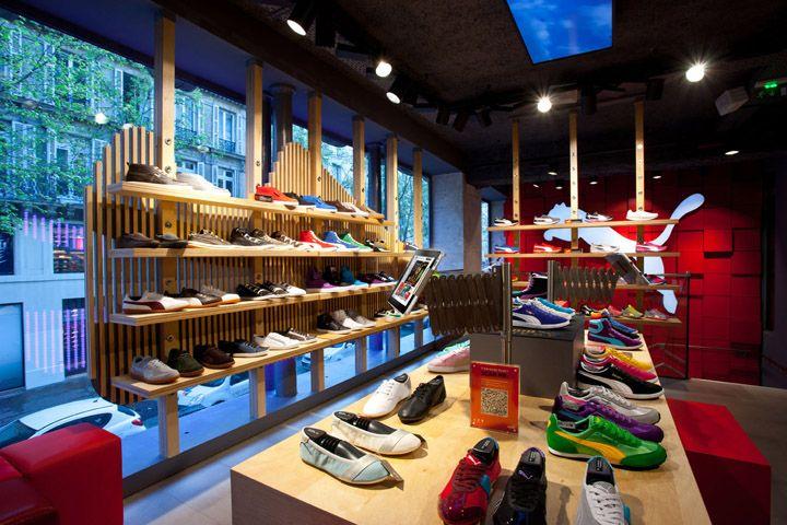 Retail Design | Footware | Puma Store by Plajer & Franz Studio, Paris