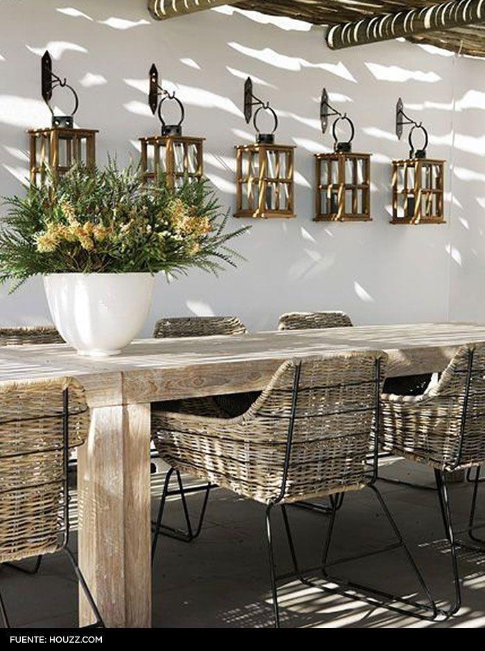 Adornos para terrazas awesome fuente ikea ideas de for Falabella muebles jardin