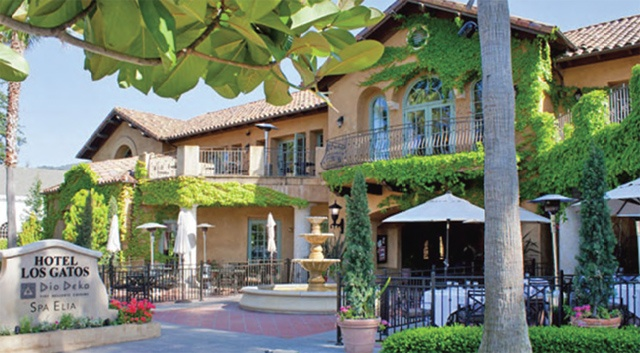Los Gatos Hotel offers a home to Deo Deka and Spa treatments . One of the most luxurious places to stay in Siliocn Valley
