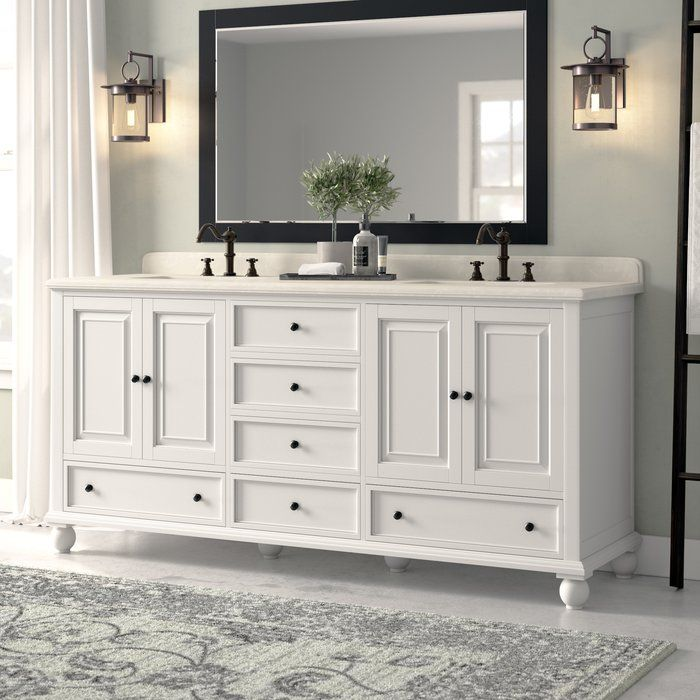 Samoset 72 Double Bathroom Vanity Base Only Double Vanity