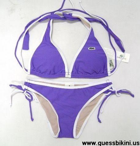 Lacoste halter bikini