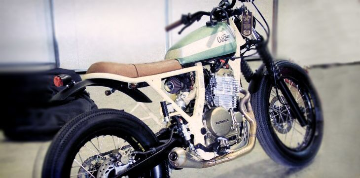 Cafe Racer (Dreams) : CRD#25 Honda NX 650 Dominator