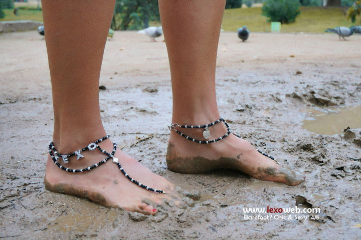 #Barefoot, chic and sexy even in autumn! [http://www.lexoweb.com/picx.htm] Barefoot sandals by @verymicky