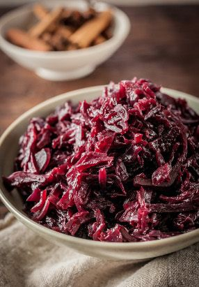 Braised Red Cabbage / Recipe by Raymond Blanc