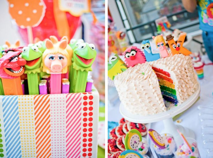 muppet themed inspired birthday party via Kara's Party Ideas- www.KarasPartyIdeas.com: Kids Parties, Theme Parties, Muppets Theme, Kids Birthday Parties, War Parties, Muppets Parties, Parties Ideas, Parties Theme, Birthday Ideas