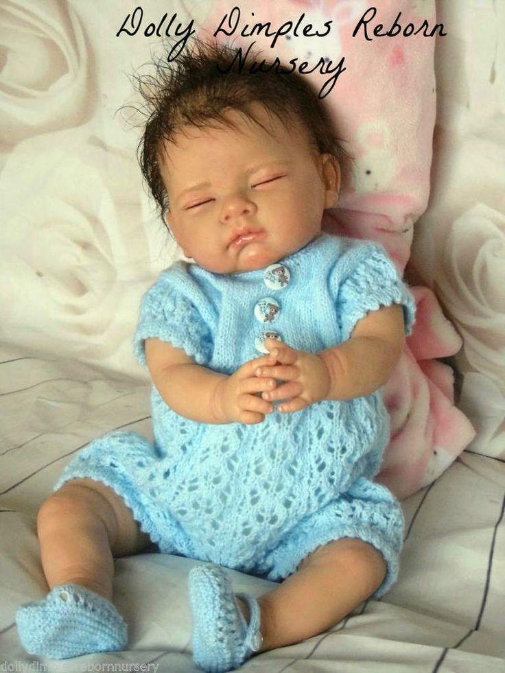 Beautiful Reborn Doll~Dolly Dimples Reborn Nursery~Custom Sofia Baby~Low Price~