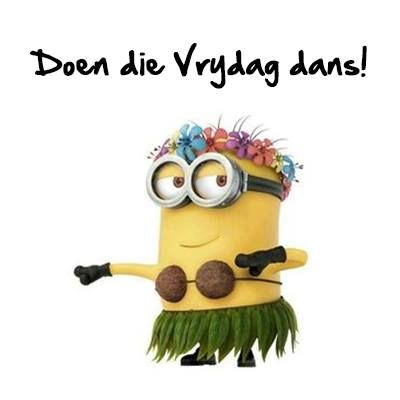 """Do the Friday Dance"" in Afrikaans"