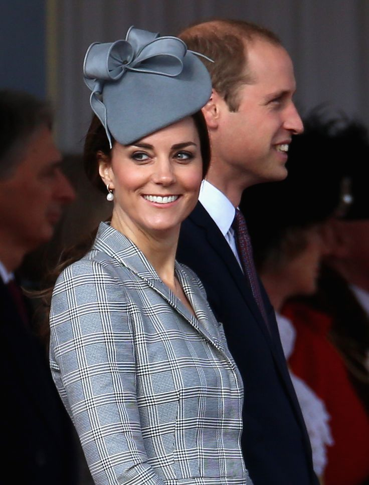 Kate Middleton Dazzles In McQueen During First Pregnant Appearance | StyleList Canada