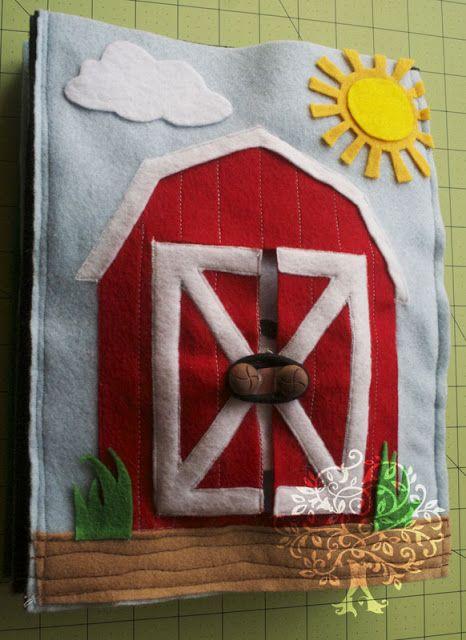 Quiet in the country. Note barn door closures.