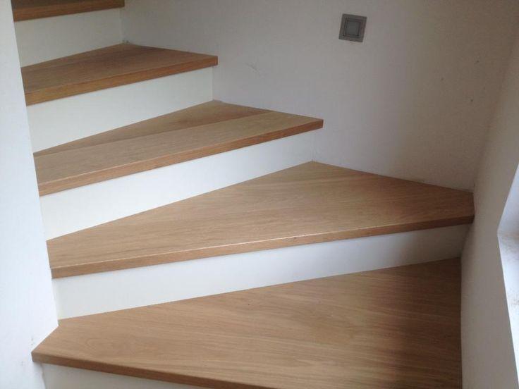 54 best scale gradini pedate in legno treppen stufen for Rivestire una scala in legno